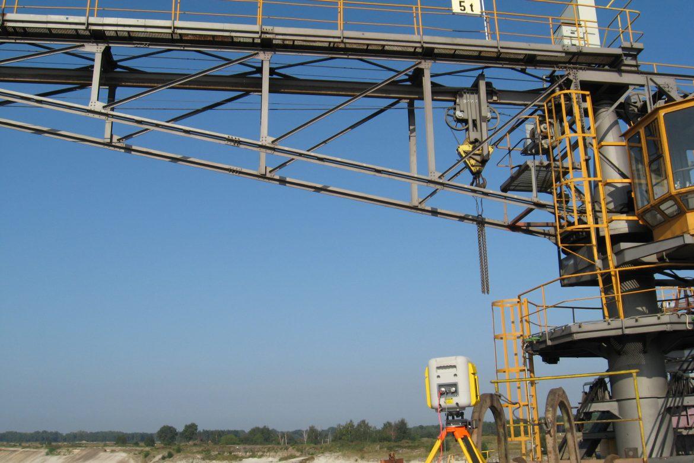 Großgeräte-Messung, Terrestrisches Laserscanning
