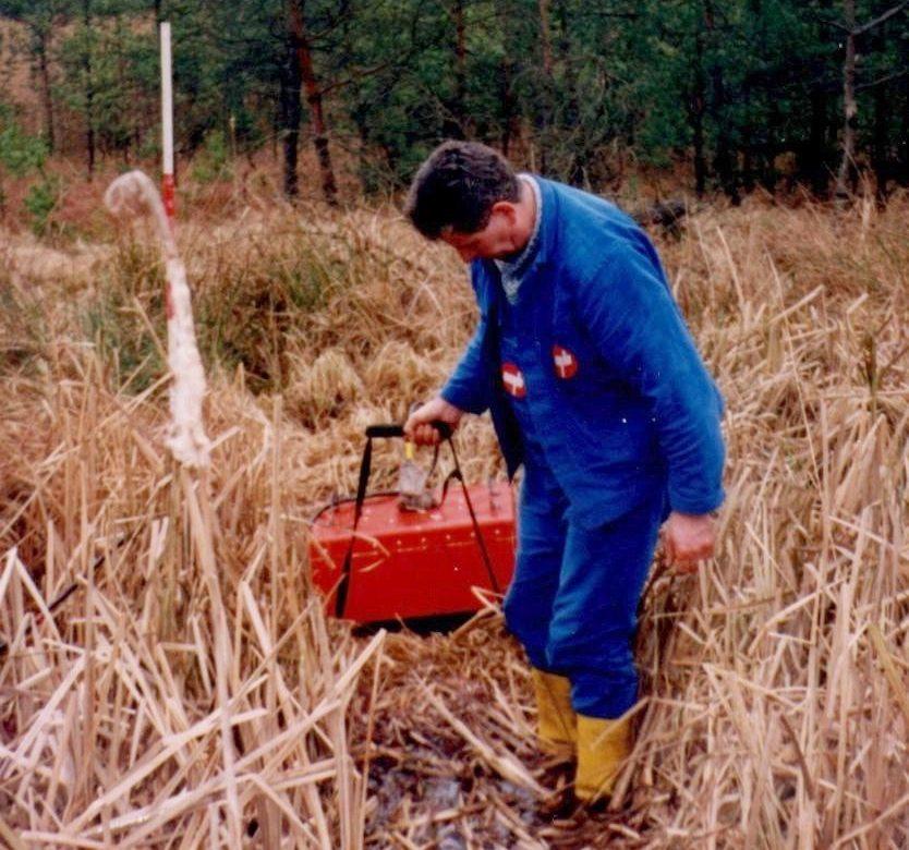 Untersuchung von Feuchtgebieten